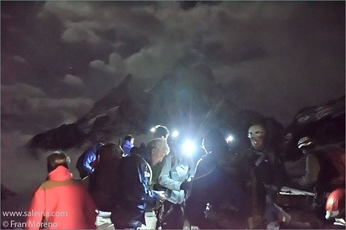 Luz de frontal, relatos de un fotografo de montaña